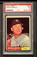 Mickey Mantle [PSA 3]