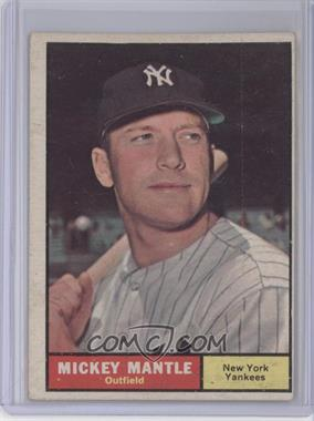 1961 Topps #300 - Mickey Mantle