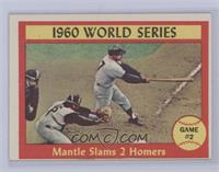 1960 World Series Game #2 - Mantle Slams 2 Homers [Excellent]