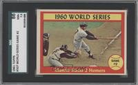 1960 World Series Game #2 - Mantle Slams 2 Homers [SGC 86]