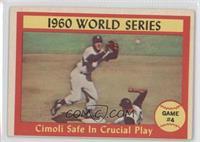 1960 World Series (Gino Cimoli, Tony Kubek) [GoodtoVG‑EX]