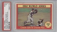 1960 World Series (Gino Cimoli, Tony Kubek) [PSA 3]