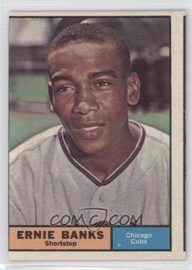 1961 Topps #350 - Ernie Banks