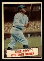 Baseball Thrills: Babe Ruth Hits 60th Homer [VG]