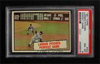Baseball Thrills: Larsen Pitches Perfect Game (Don Larsen) [PSA8]