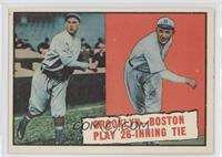 Baseball Thrills: Brooklyn-Boston Play 26-Inning Tie (Leon Cadore, Joe Oeschger)