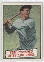 Baseball Thrills: Gehrig Benched After 2,130 Games (Lou Gehrig) [Good to&n…