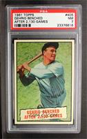 Baseball Thrills: Gehrig Bendched After 2,130 Games (Lou Gehrig) [PSA7]
