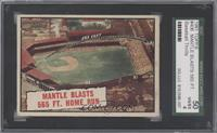 Baseball Thrills: Mantle Blasts 565 Ft. Home Run (Mickey Mantle) [SGC 50]
