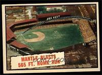 Baseball Thrills: Mantle Blasts 565 Ft. Home Run (Mickey Mantle) [EXMT]
