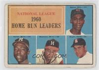 Ernie Banks, Hank Aaron, Eddie Mathews, Ken Boyer [Good to VG‑E…