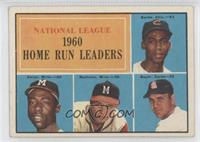 N.L. Home Run Leaders (Ernie Banks, Hank Aaron, Eddie Mathews, Ken Boyer)
