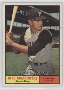 1961 Topps #430 - Bill Mazeroski