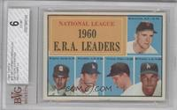 National League 1960 E.R.A. Leaders (Mike McCormick, Ernie Broglio, Don Drysdal…