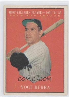 1961 Topps #472 - Yogi Berra