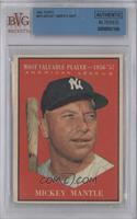 American League Most Valuable Player (Mickey Mantle) [BVG AUTHENTIC]