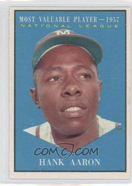 1961 Topps #484 - Hank Aaron