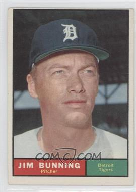 1961 Topps #490 - Jim Bunning