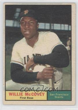 1961 Topps #517 - Willie McCovey [GoodtoVG‑EX]