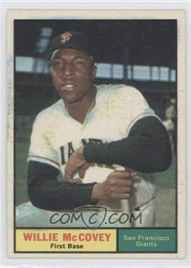 1961 Topps #517 - Willie McCovey