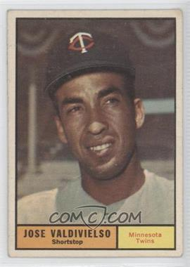 1961 Topps #557 - Jose Valdivielso [Good to VG‑EX]