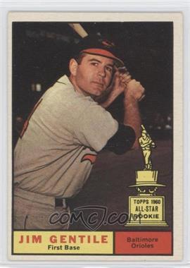 1961 Topps #559 - Jim Gentile