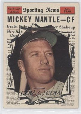 1961 Topps #578 - Mickey Mantle