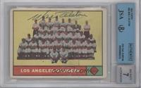 Los Angeles Dodgers Team [BGS/JSA Certified Auto]