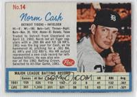 Norm Cash (Throws right)