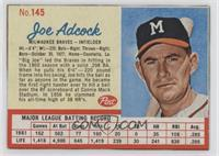 Joe Adcock (CORR: Adcock spelled