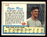 Roger Maris (Post logo on back) [EX MT]