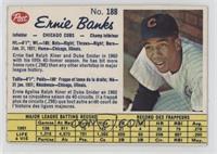 Ernie Banks [Authentic]