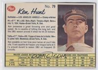 Ken Hunt [Authentic]