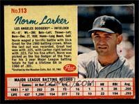 Norm Larker [EX]