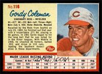 Gordy Coleman [EXMT]