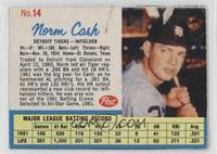 Norm Cash (Throws right) [Authentic]