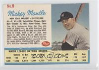 Mickey Mantle (Post logo on back)