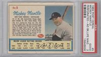 Mickey Mantle Post logo on back [PSA 2]