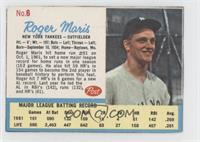 Roger Maris Post logo on back