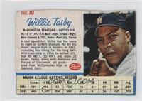 Willie Tasby [Authentic]