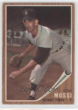 1962 Topps - [Base] #105 - Don Mossi