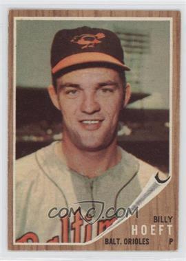 1962 Topps - [Base] #134.2 - Billy Hoeft (Green Tint)