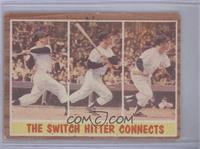 The Switch Hitter Connects (Mickey Mantle) [GoodtoVG‑EX]
