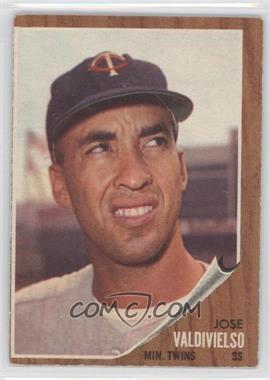 1962 Topps - [Base] #339 - Jose Valdivielso [GoodtoVG‑EX]