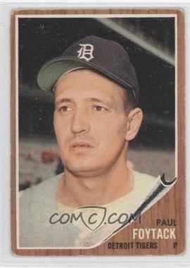 1962 Topps - [Base] #349 - Paul Foytack