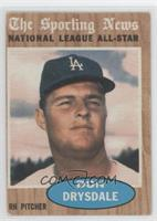 Don Drysdale (All-Star) [Good to VG‑EX]
