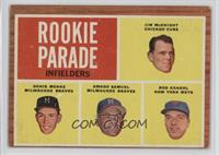 Rookie Parade - Jim McKnight, Denis Menke, Amado Samuel, Rod Kanehl [Good …