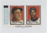 Gus Triandos, Billy Williams [Good to VG‑EX]