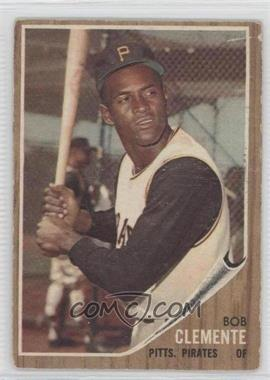 1962 Topps #10 - Roberto Clemente [Good to VG‑EX]