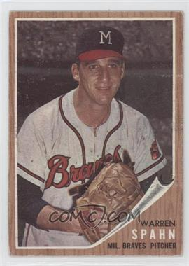 1962 Topps #100 - Warren Spahn